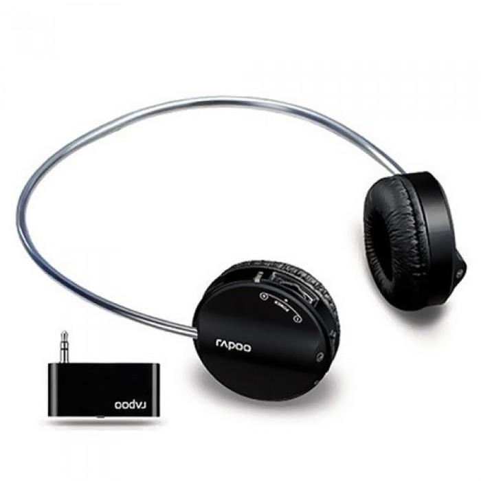 RAPOO H3070 Wireless Stereo Headset (Black)