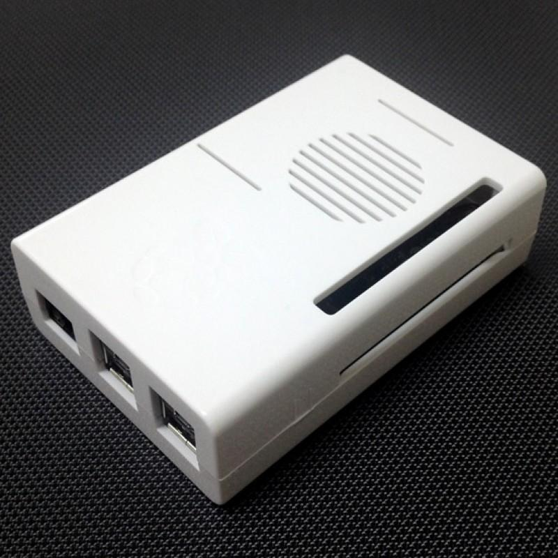 Raspberry PI Casing C/W Fan (White)