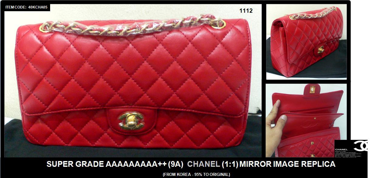 After Raya Special: Super Grade 9A++ Chanel Coco 1:1 (Korea)~FreeDeliv..