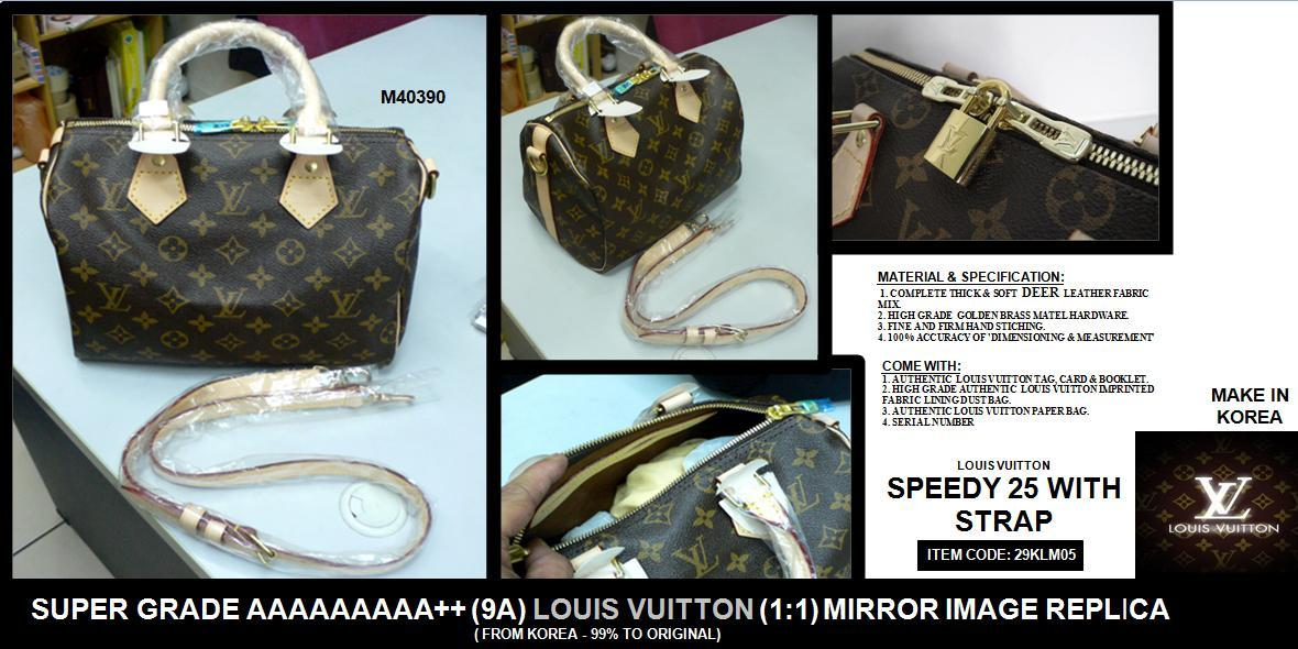 Raya Special: Super Grade 9A++ LV Speedy 25 1:1 (Korea)~FreeDelivery
