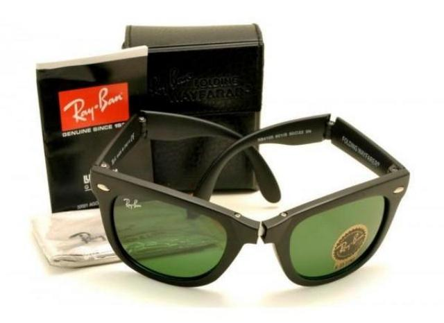 Ray Ban Wayfarer Folding Matte Black
