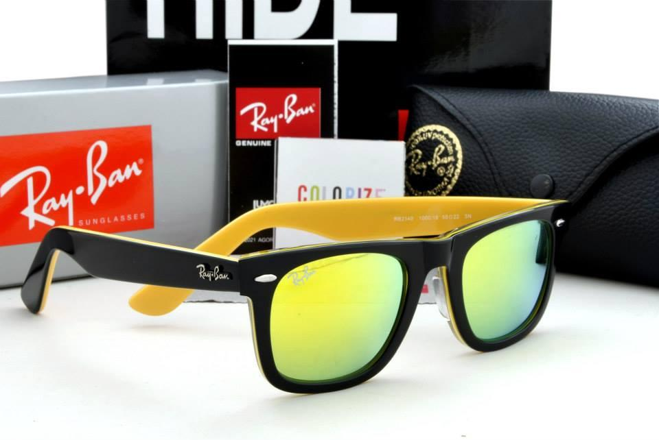Ray Ban Wayfarer Green And Black