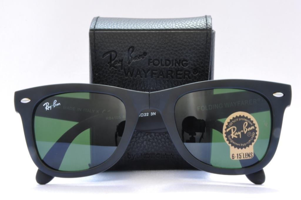 ray ban folding wayfarer aviator