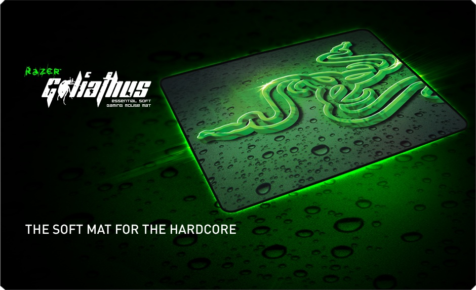 RAZER GOLIATHUS 2013 LARGE SPEED MOUSE PAD (RZ02-01070300-R3M1)