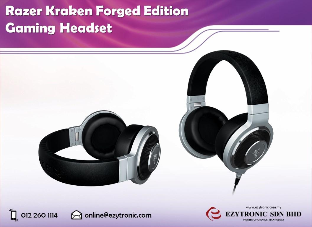 Razer Kraken Forged Edition Gaming Headset