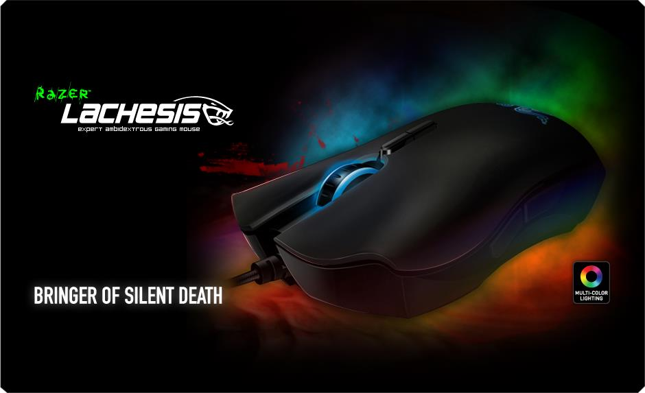 Razer Lachesis - High Precision 3G Laser Gaming Mouse