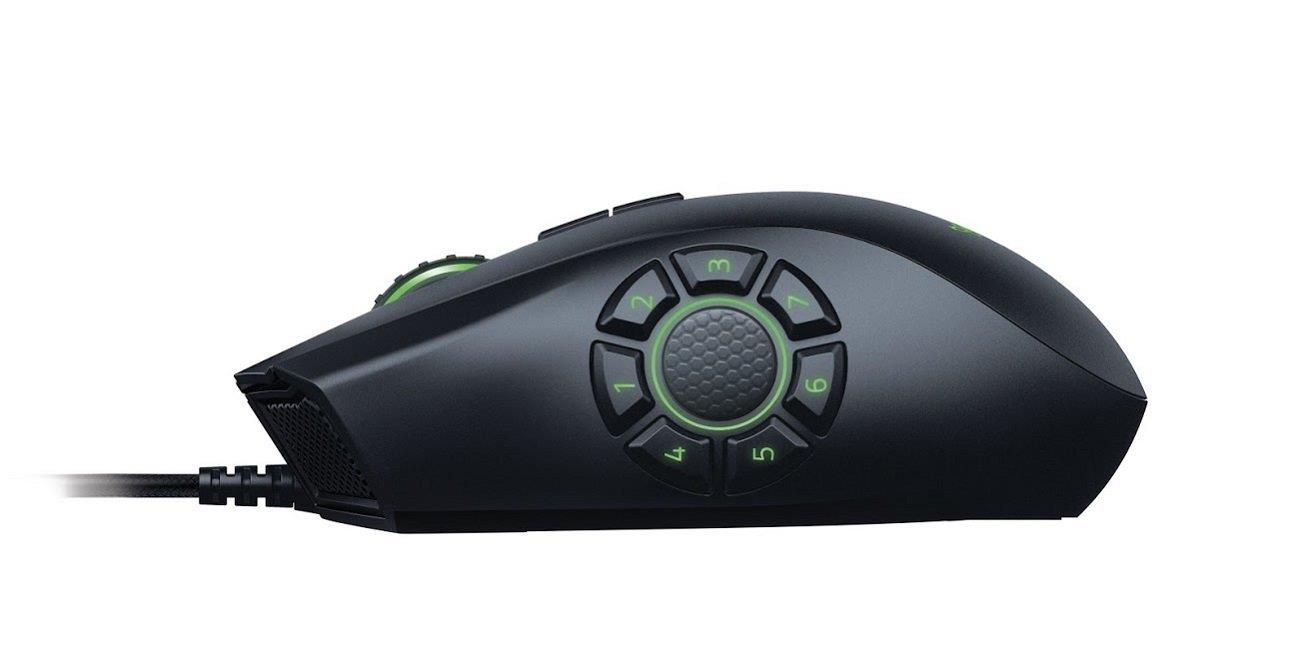Razer Naga Hex V2 MOBA Gaming Mouse 7 Button Chroma Lighting 16,000k