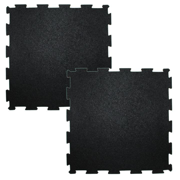 RCL ITM5015 Interlocking Rubber Gym Floor Mats (2 pcs)