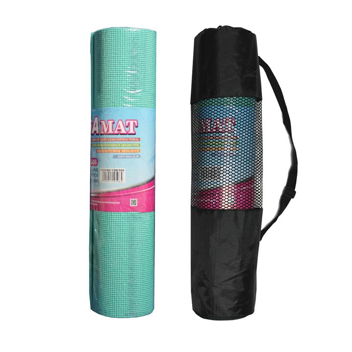RCL YGM506 Tiffany Blue Yoga Mat 6mm New With Stains
