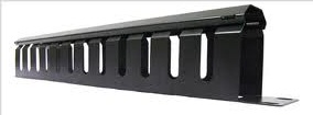 RCM001 1U Cable Management Panel for equipment rack; Comes with cover