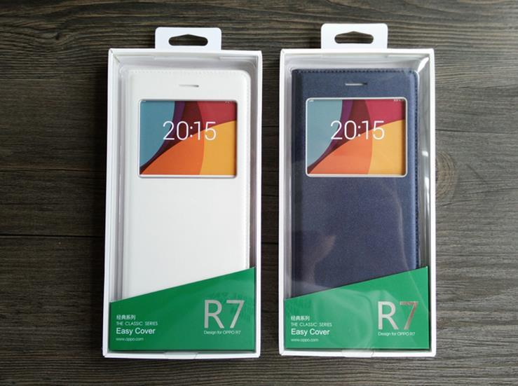 Ready Stock@ 100% OPPO R7 /R7 Lite Flip Smart Case Cover Casing