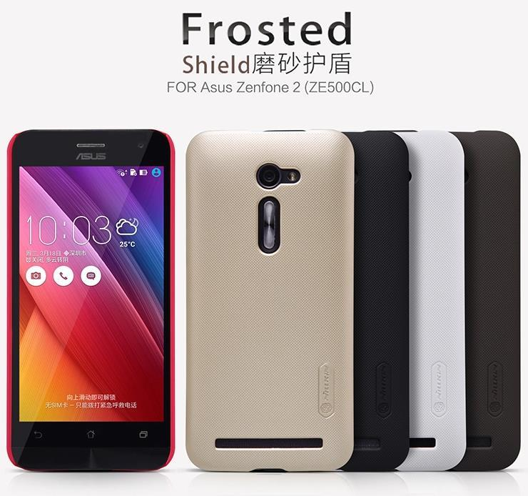 Ready Stock Asus Zenfone 2 ZE500CL Frosted Back Case Cover Casing + SP