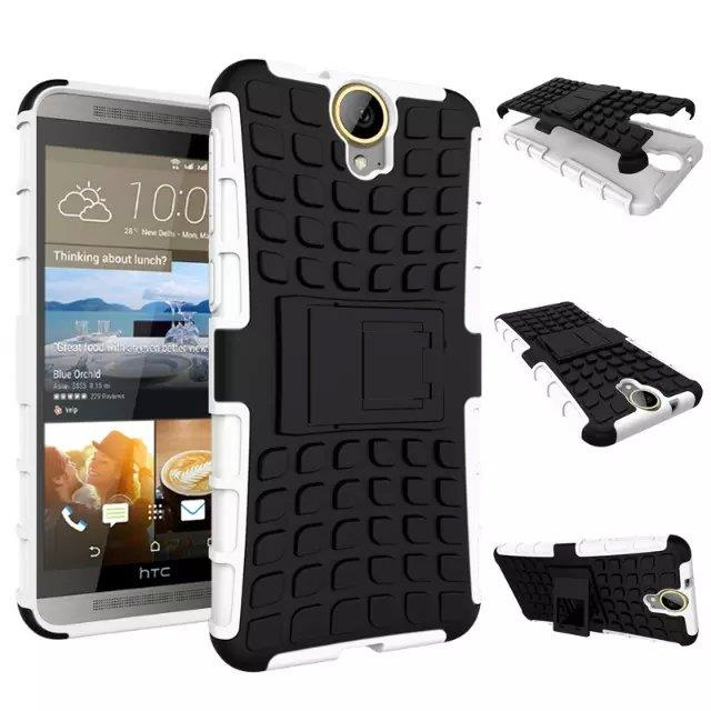 Ready Stock @ HTC E9 Plus Tough Armor Stand Back Case Cover Casing