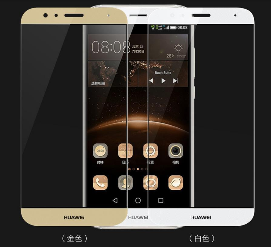 Ready Stock@ Huawei G8 Full Cover 9H Tempered Glass Screen Protector