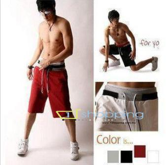 Ready Stock MCP0016 Korean Men Sport Short Pant