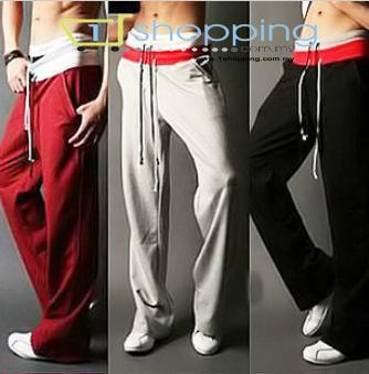 Ready stock MCP0018 Korean Men's Long Sport Pants