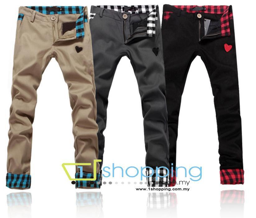 Ready stock MCP0027 Korean men's casual Long trousers / Pants