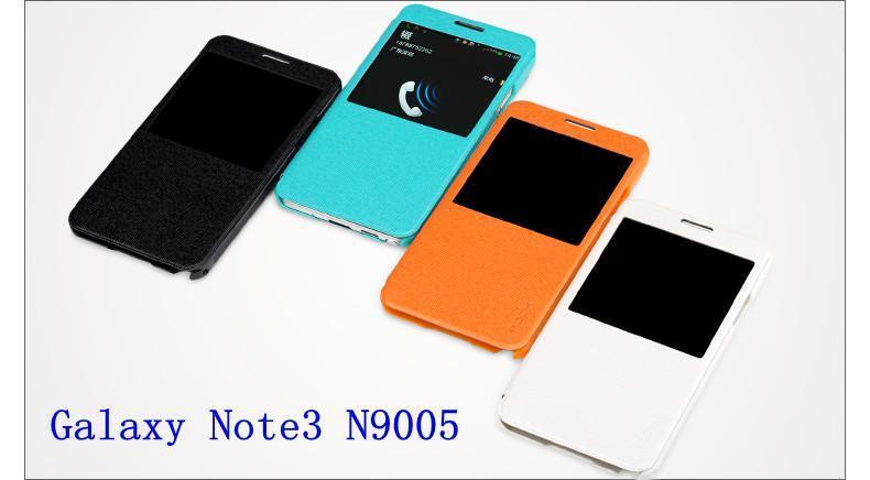 Ready Stock @ Rock Samsung Galaxy Note 3 N9005 Flip Case Cover Casing