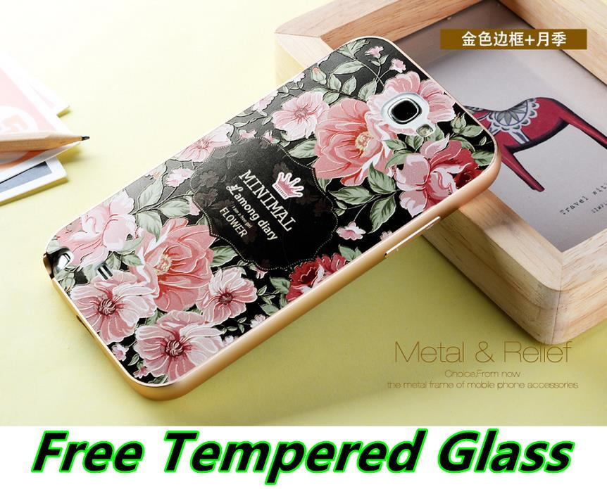 Ready Stock @ Samsung Galaxy Note 2 3D Metal Bumper Case Cover Casing