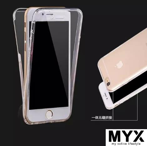 Ready Stock - Slim iPhone 7 Plus 360 Protection Soft Casing Case Cover