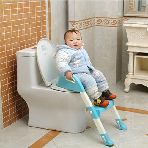 *READY STOCK*Toilet Train Chair Toddler Ladder Potty Child Step Up