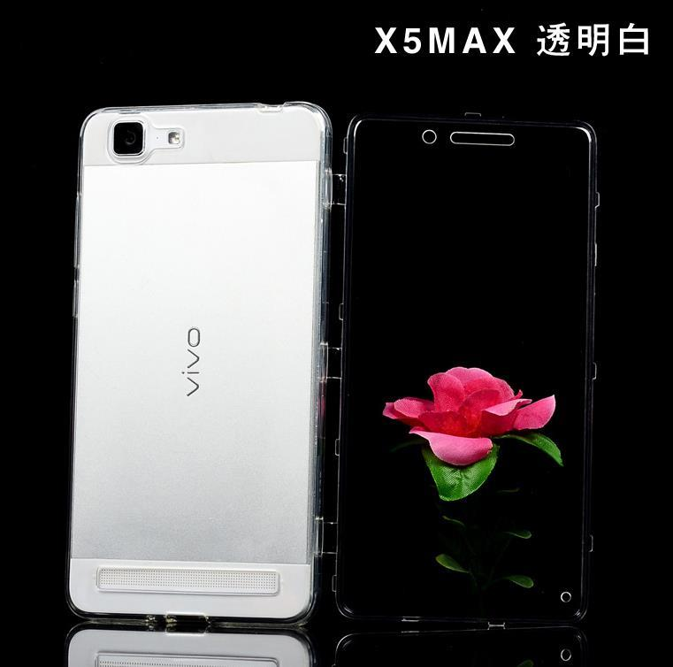 Ready Stock ViVO X5 Max X5Max Transparent Flip Armor Case Cover Casing