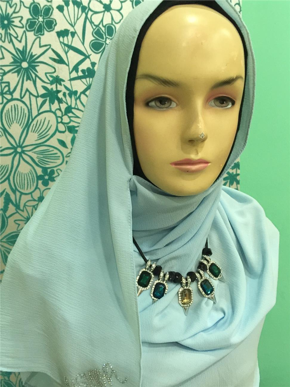 Ready-to-wear Instant Hijab - Double Loop