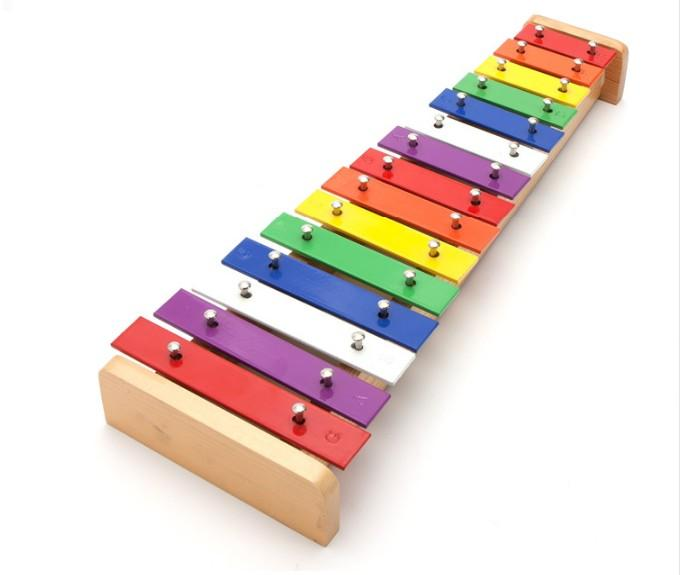 The real 15 Notes Xylophone Music Instrument