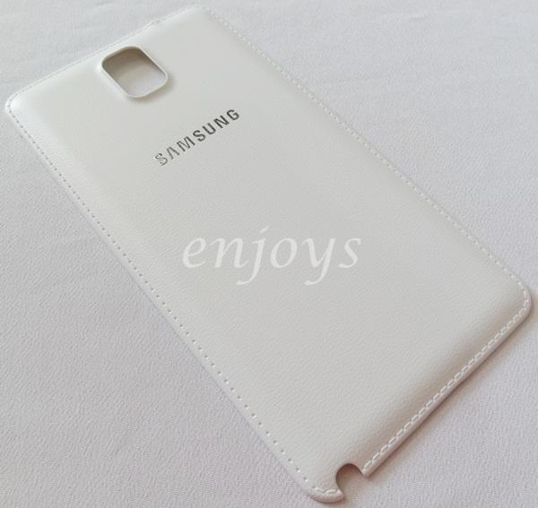 Real ORIGINAL HOUSING Battery Cover Samsung Galaxy Note 3 N9005 ~WHITE
