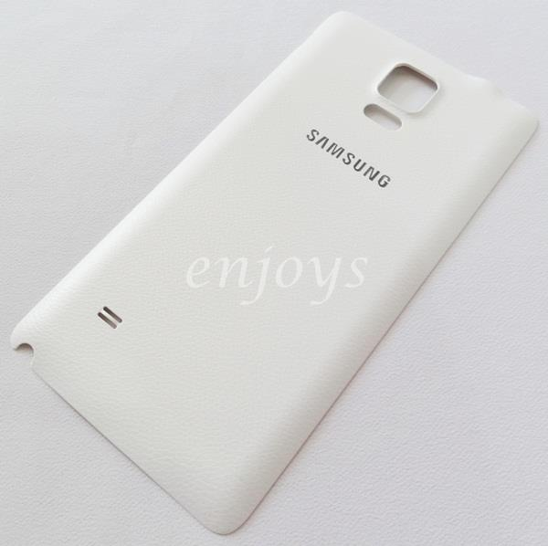 Real ORIGINAL HOUSING Battery Cover Samsung Galaxy Note 4 N910C ~WHITE