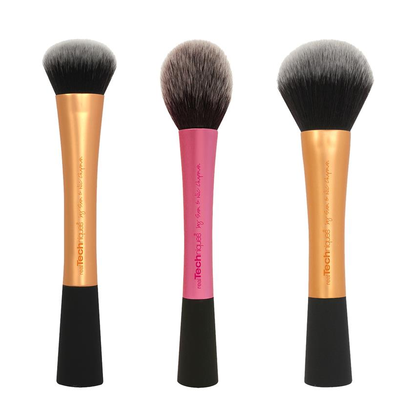Real Techniques Makeup Brushes Powder Brush Blush Brush Expert Face