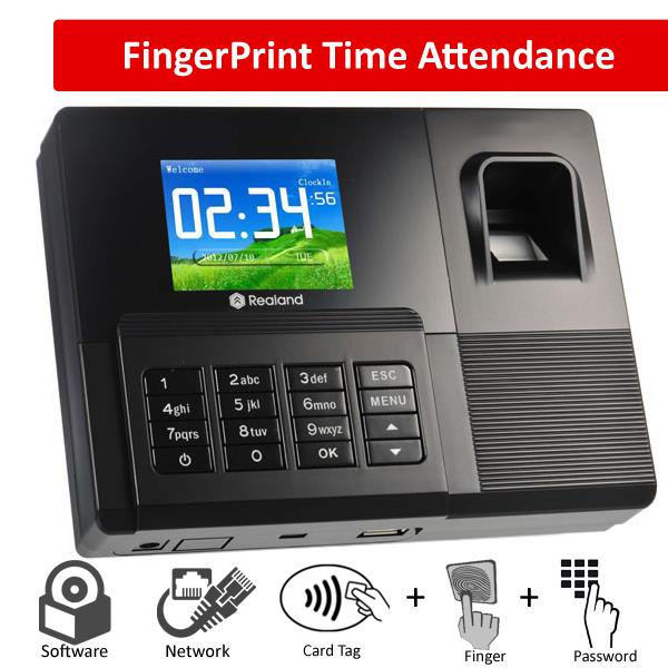 Realand F031 Fingerprint Atttendance TCP/IP LAN + ID card