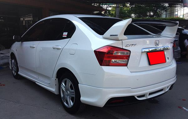 REAR SPOILER HONDA CITY 2009,2010,2011,2012,2013 MUGEN RR