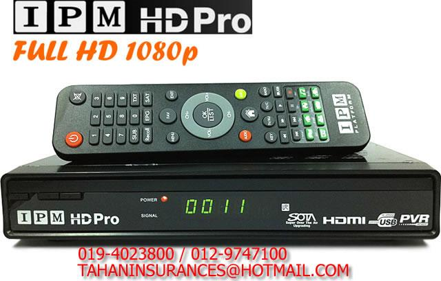 RECEIVER IPM MODEL HD PRO.
