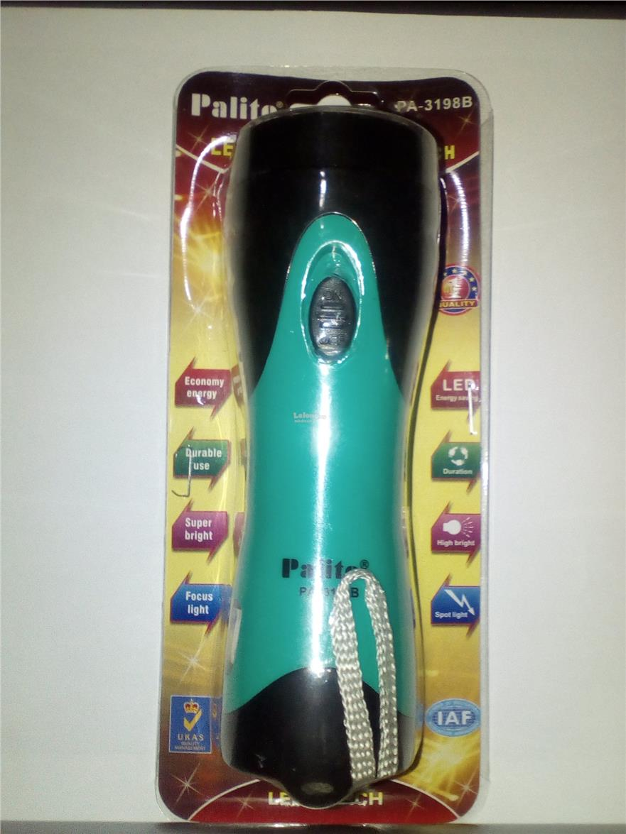 Rechargeable LED Torchlight PA-3198B