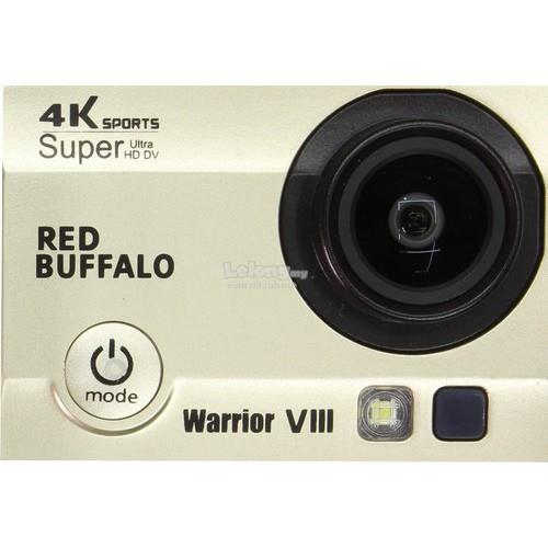 Red Buffalo Warrior VIII 4K sport action camera