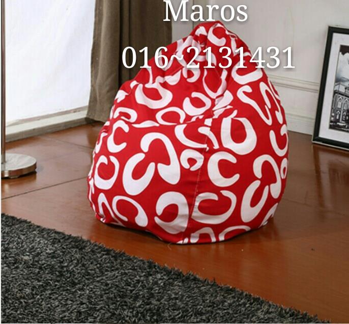 RED C chair sofa bean bag stool home furniture kerusi perabot rumah