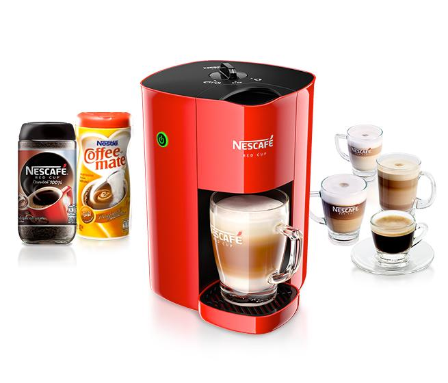 Nescafe K Cup Coffee Maker : NEW!! Red Cup Nescafe Coffee Maker Coffee Machine Coffee Lover (Selangor, end time 4/19/2015 3 ...
