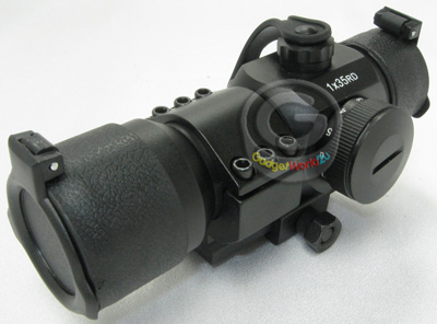 RED DOT SCOPE 1X35RD Magnification + Built-In Mount