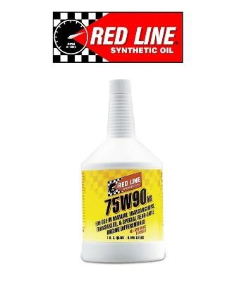 RED LINE 75W90NS GL-5 LSD GEAR OIL WITHOUT FRICTION MODIFIERS