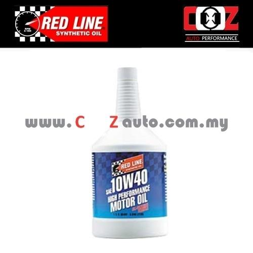 RED LINE REDLINE 10W40 Fully Synthetic Engine / Motor Oil (1 BOTTLE)
