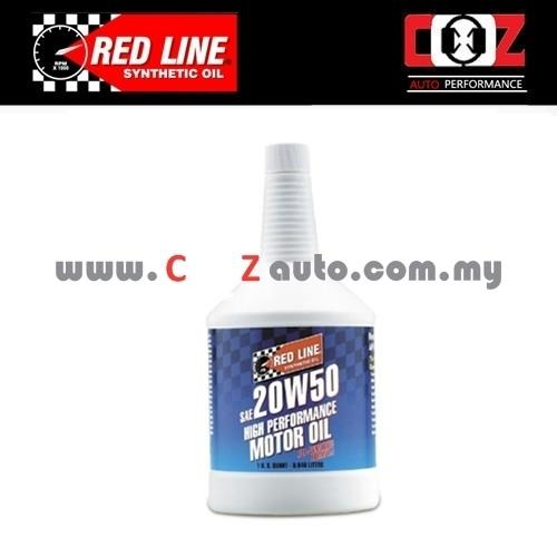 RED LINE REDLINE 20W50 Fully Synthetic Engine / Motor Oil