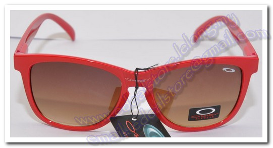 Red Oakley Sunglass Brown Lens (CK-197)