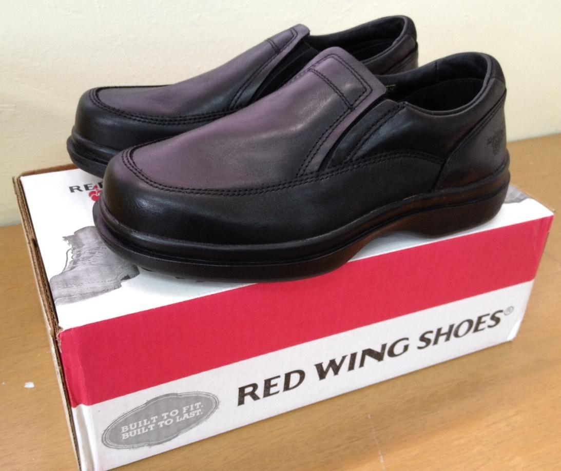 RED WING SLIP-ON EXECUTIVE SAFETY SHOES (Terengganu End Time 6/17/2013 21500 PM MYT)