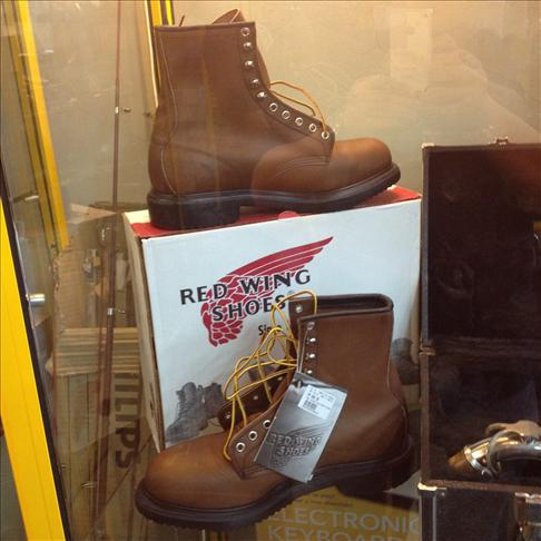 Red Wing Steel Toe Boots For Men 2233 Red Wing Steel Toe Boots