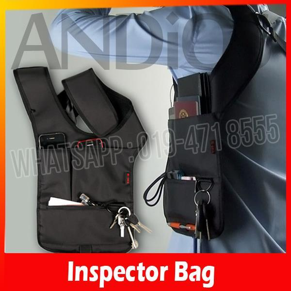 Redalex Inspector Shoulder Bag Organizer Underarm Cross Pouch Wallet