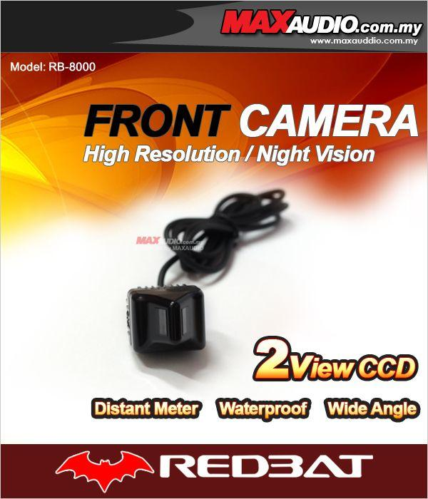 REDBAT RB-8000 Triangle 2 View CCD Front Camera for TOYOTA ALPHARD