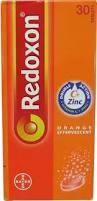 Redoxon Double Protection with Vitamin C + Zinc (30's) X 2