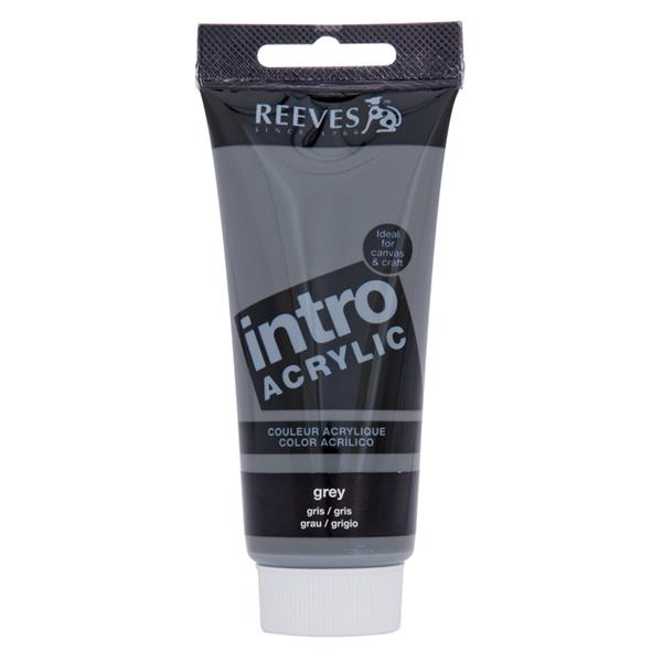 Reeves Intro Acrylic Tube 120ml Grey