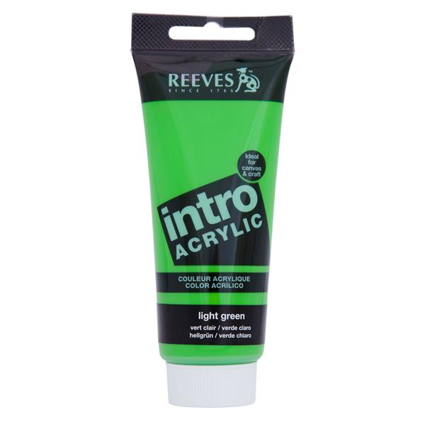 Reeves Intro Acrylic Tube 120ml Light Green